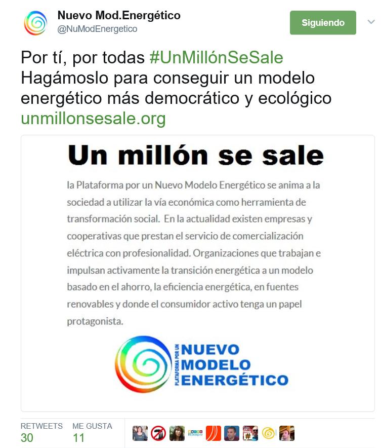 Campaña #UnMillónSeSale