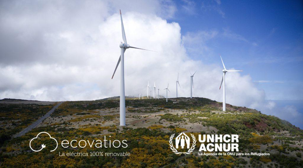 ecovatios suministrará energía verde en todas las oficinas del Comité español de ACNUR