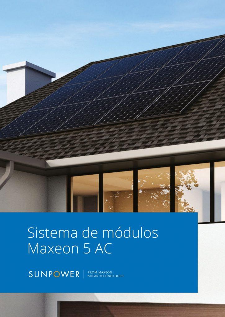 Maxeon 5 AC folleto Residencial