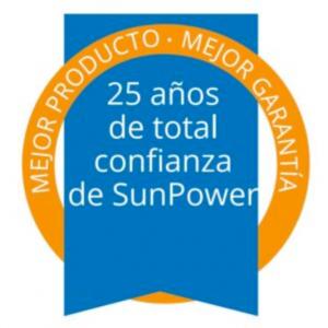 garantía sunpower