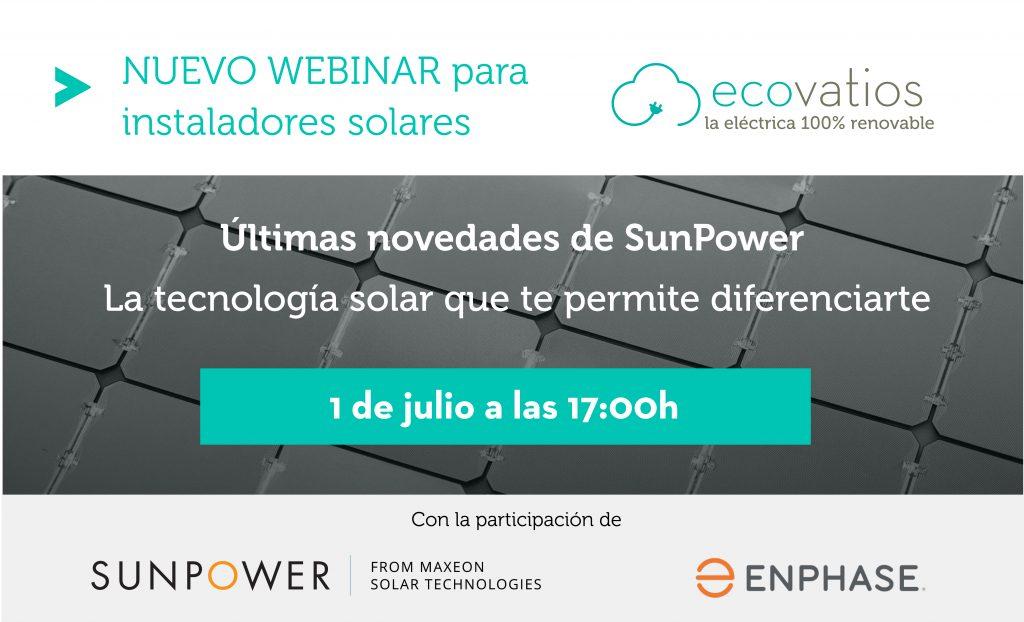 ecovatios presenta, en colaboración con Maxeon Solar Technologies y Enphase, las últimas novedades y perspectivas en la tecnología solar
