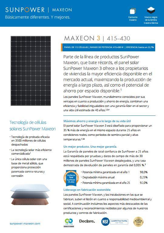 MAX3_415-430W